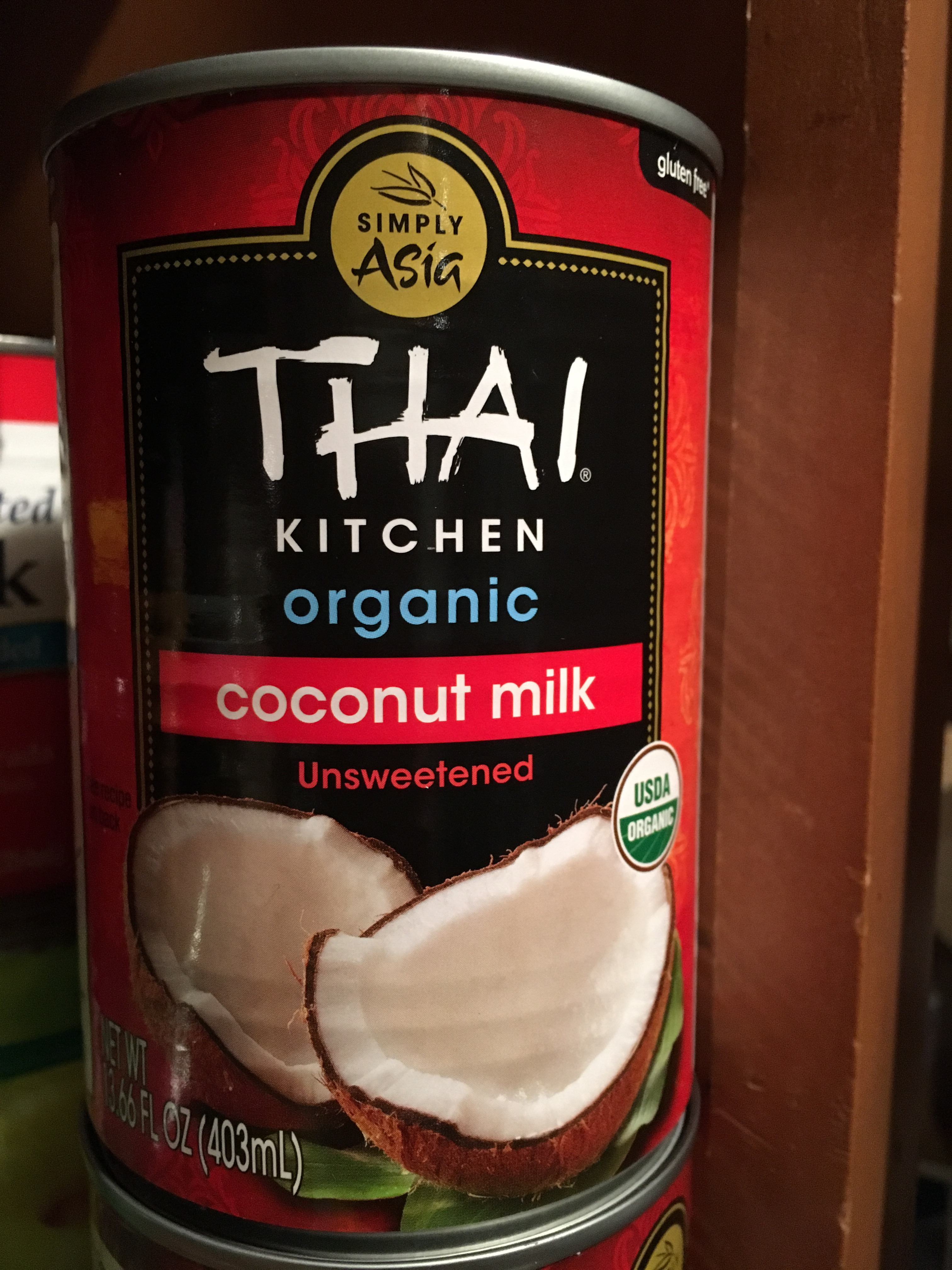 Thai Kitchen Coconut Cream homemade coconut cream coffee creamer – doing it all on decaf